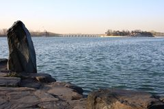 Siebzehn-Bogen Brücke Lizenzfreie Stockbilder