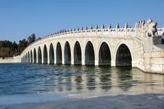 Siebzehn-Loch Brücke Lizenzfreie Stockfotos