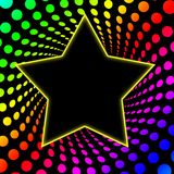 Siebzigerjahre Superstar Rainbo Rotation Lizenzfreies Stockbild