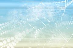 sieci abstrakcjonistyczna przemysłowa technologia Zdjęcie Stock