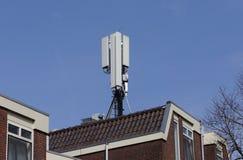 Sieci anteny na dachu Obraz Stock