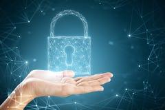 Sieci bezpieczeństwo i ochrony pojęcie Zdjęcie Stock