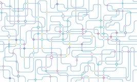 Sieci bezszwowy tło royalty ilustracja