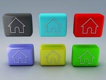 Sieci domowa ikona ilustracja wektor