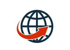 Sieci globalnej ikony schematyczny szkicowy wektor odizolowywał wizerunek royalty ilustracja