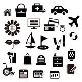Sieci ikona hobby lub życie ilustracji