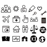 Sieci ikona różnorodność ilustracji