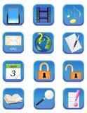 Sieci ikony 2 Obrazy Stock
