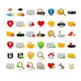 Sieci ikony Obrazy Royalty Free
