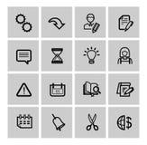 Sieci ikony ustawiać Zdjęcie Royalty Free