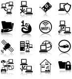 Sieci komputerowe royalty ilustracja