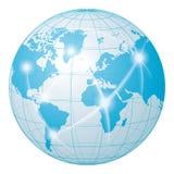 Sieci komunikaci świat Zdjęcia Stock