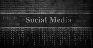 Sieci ogólnospołeczny pojęcie royalty ilustracja
