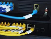 sieci pokoju serwer Zdjęcie Stock