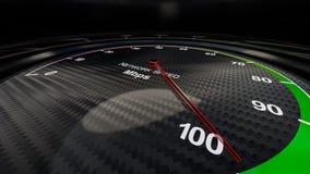 Sieci prędkości wskaźnik Obraz Royalty Free
