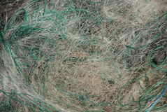 sieci rybackich Obraz Royalty Free
