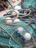 Sieci rybackie Obrazy Stock