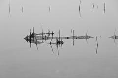 Sieci rybackie Zdjęcia Royalty Free