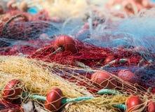 Sieci rybackiej tło Fotografia Royalty Free