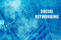 sieci społecznych royalty ilustracja