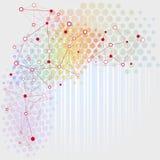 Sieci tło ilustracji