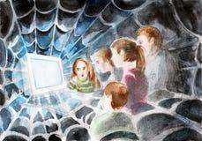 Sieci technologia Zdjęcie Stock