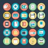 Sieci Wektorowe ikony 1 Fotografia Royalty Free