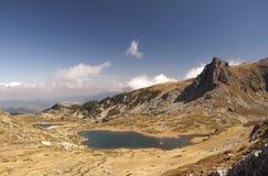 Siedem jezior Bułgaria bliźniaka jezioro Zdjęcia Royalty Free