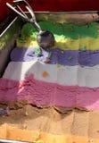 Siedem kolorów lody Obraz Royalty Free
