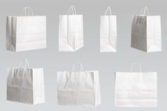 siedem toreb na zakupy Zdjęcia Stock