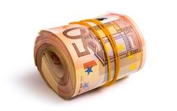 Siedem tysięcy pięćset euro Zdjęcia Stock