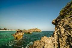 Siedem wysp teren, Watamu, Kenja Zdjęcie Stock
