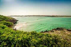 Siedem wysp teren, Watamu, Kenja Fotografia Royalty Free