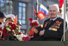 Siedemdziesiąt rok od zwycięstwa w Rosja Fotografia Royalty Free