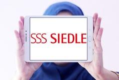 Siedle-Firmenlogo lizenzfreie stockfotos
