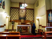 SIEDLEC, POLAND, November 22, 2015 .: Chapel of the Blessed soul Royalty Free Stock Photo