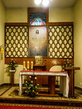 SIEDLEC, POLAND, November 22, 2015 .: Chapel of the Blessed soul Royalty Free Stock Photography