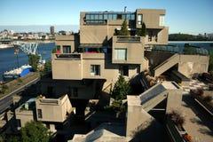 Siedlisko 67 w Montreal, Kanada Obrazy Royalty Free