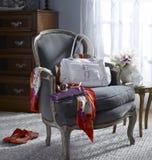 Siedzącego pokoju krzesło Obrazy Royalty Free