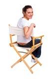 siedzący krzesło model fotografia royalty free