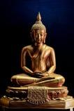siedząca Buddha postura fotografia stock