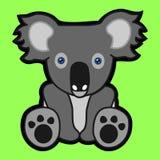 Siedząca dziecko kreskówki koala Obrazy Royalty Free