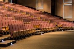 Siedzenia czekają ciekawych słuchaczów Zdjęcie Royalty Free