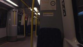 Siedzenia i nawa w metro frachcie zbiory