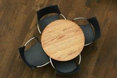 siedzenia kawy w domu zdjęcie royalty free