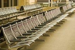 siedzenia na terminal Obrazy Royalty Free