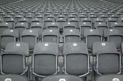 Siedzenia przy Berlińskim Olympiastadion Zdjęcie Royalty Free