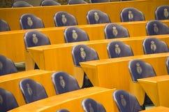 Siedzenia w Holenderskim parlamencie Obrazy Stock
