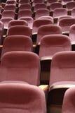 Siedzenia w Teatrze Obrazy Royalty Free