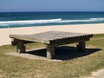 siedzenie na plaży obraz royalty free